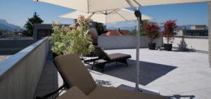 wohnen-dornbirn.at   Entspannen auf der Dachterrasse