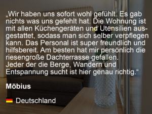 wohnen-dornbirn.at | booking.com Rating from Möbius
