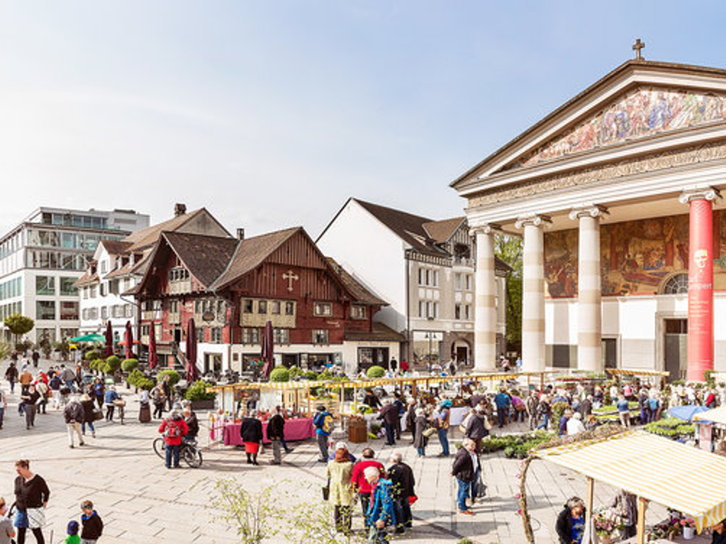 Marktplatz Dornbirn © Petra Rainer/Bodensee-Vorarlberg Tourismus GmbH
