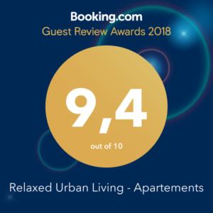 wohnen-dornbirn.at | Booking.com Guest Review Awards 2018
